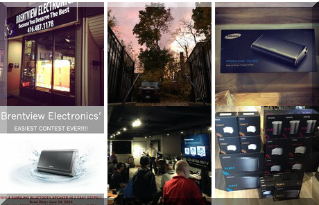 Brentview Electronics collage of popular photos