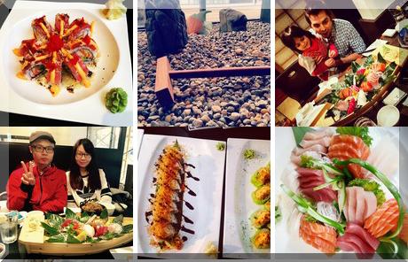 Kirei Sushi & Bar collage of popular photos