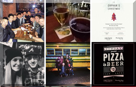The Lamplighter Public House collage of popular photos