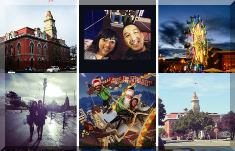 Victoria City Hall collage of popular photos