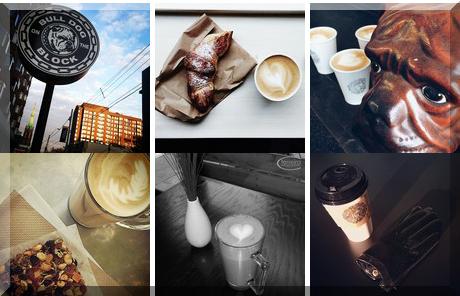 Bulldog Espresso Bar collage of popular photos