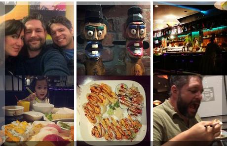 Sushi Bar collage of popular photos