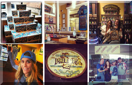 Phillips Brewery collage of popular photos