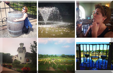 Angels Gate Winery collage of popular photos