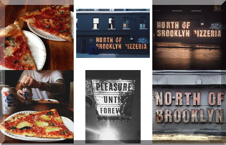 North of Brooklyn Pizzeria collage of popular photos