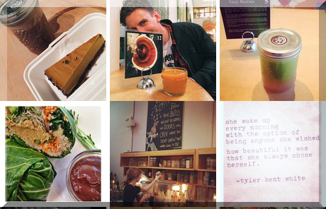 Café Bliss collage of popular photos