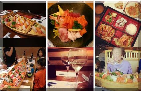 Ichiban Sushi collage of popular photos