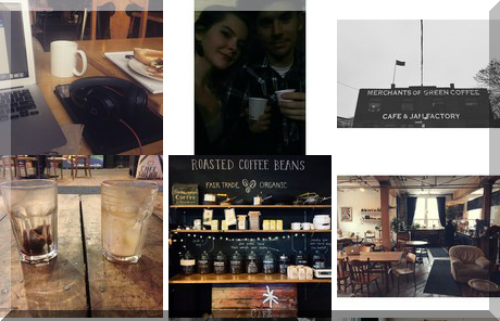 Merchants of Green Coffee collage of popular photos