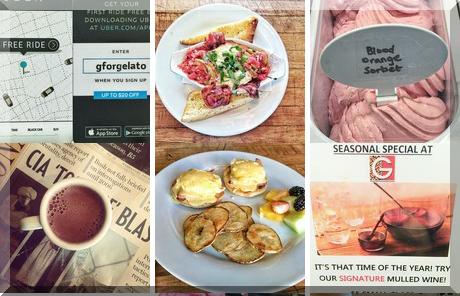 G For Gelato and Espresso Bar collage of popular photos