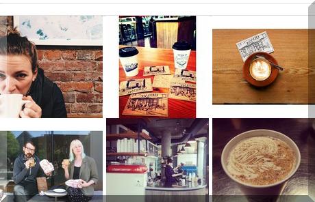 Habit Coffee collage of popular photos