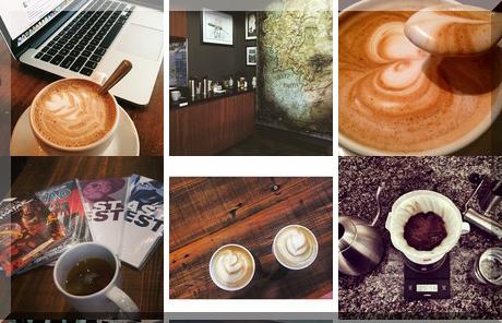 The Black Canary Espresso Bar collage of popular photos