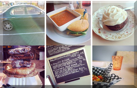 Sante Gluten-Free Cafe collage of popular photos