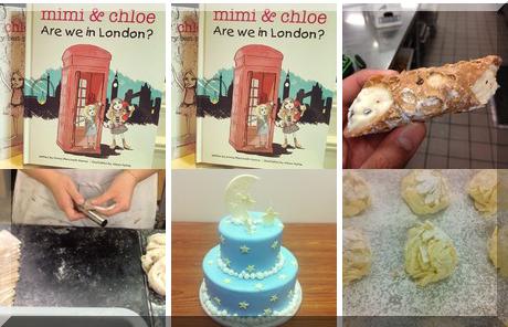 Irene's Celebrity Cakes collage of popular photos