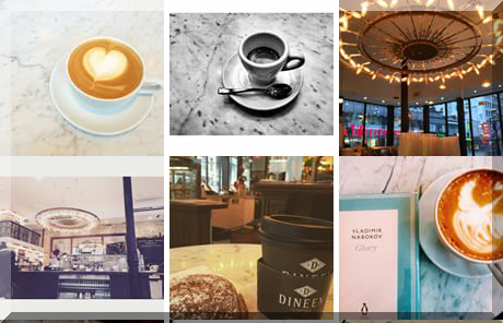 Dineen Coffee collage of popular photos