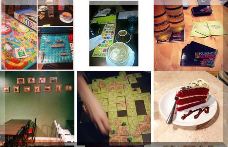 Castle Board Game Café collage of popular photos