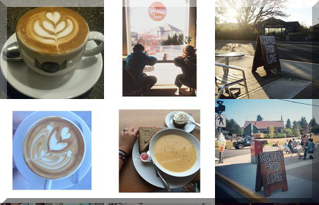 Township Coffee collage of popular photos