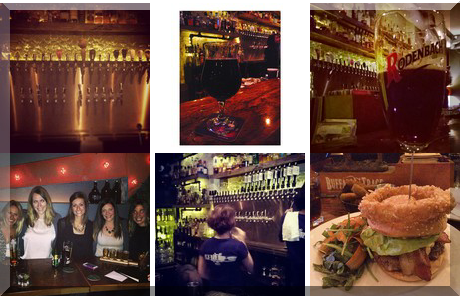 Bar Hop collage of popular photos
