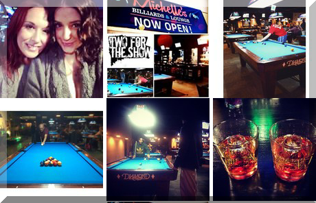 Michelle's Billiards & Lounge collage of popular photos