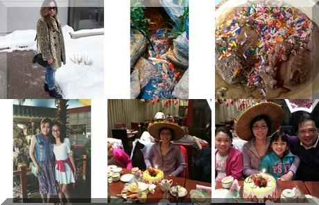 Mandarin Buffet collage of popular photos