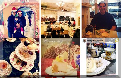 Venus Sophia Tea Room & Vegetarian Eatery collage of popular photos
