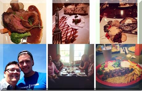 Railside Restaurant collage of popular photos