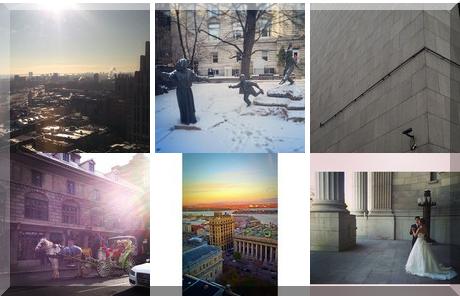 Palais de justice de Montréal collage of popular photos