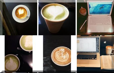 Seven Grams Espresso Bar collage of popular photos