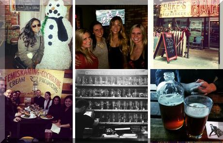 Duke's Refresher + Bar collage of popular photos