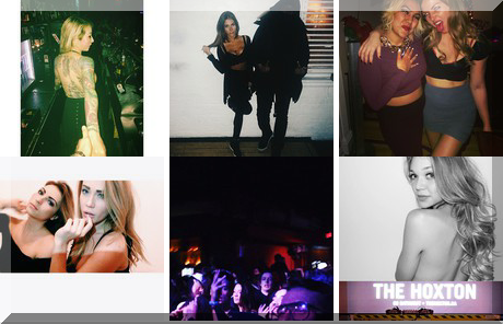 The Hoxton collage of popular photos
