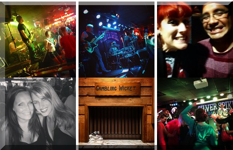 Silver Spike Saloon collage of popular photos