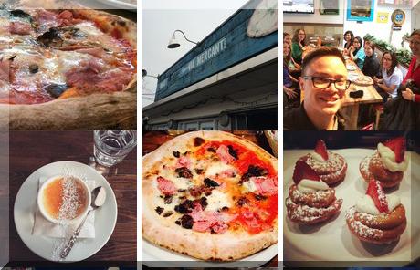 Pizzeria Via Mercanti collage of popular photos