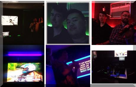 XO Karaoke Bar collage of popular photos