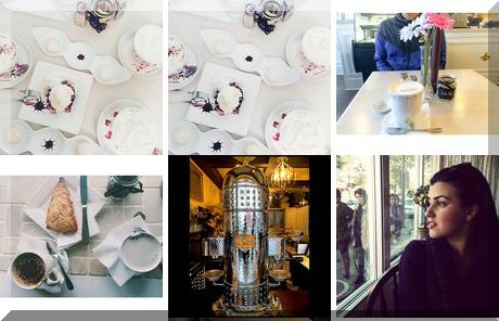 Oui Paris Cafe collage of popular photos