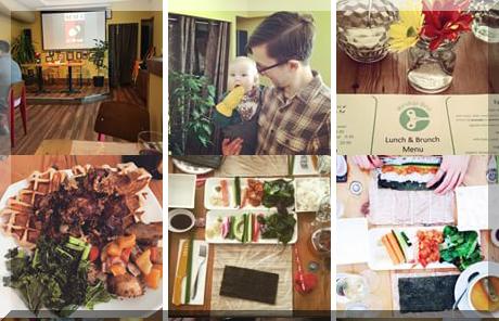 Windup Bird Cafe collage of popular photos