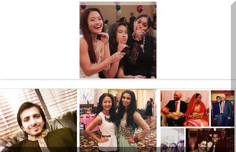 Maharaja Banquet collage of popular photos