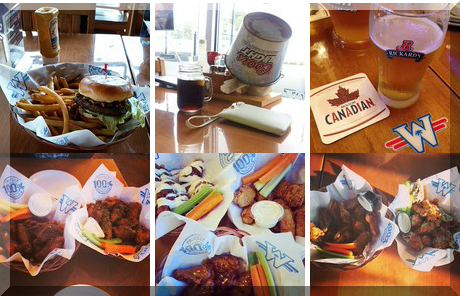 Wild Wing collage of popular photos