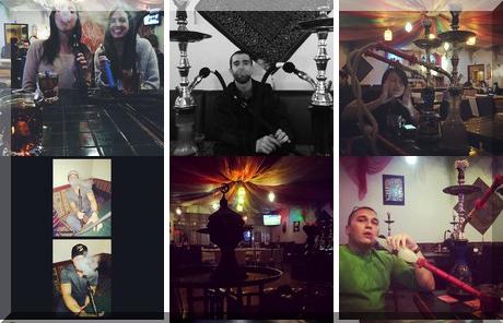 Narah Shisha Cafe collage of popular photos
