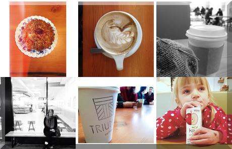 Triumph Coffee collage of popular photos