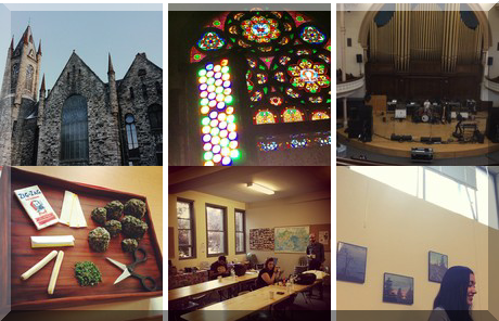 Victoria Conservatory Of Music collage of popular photos