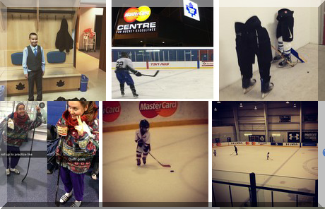 Mastercard Centre For Hockey Excellence collage of popular photos