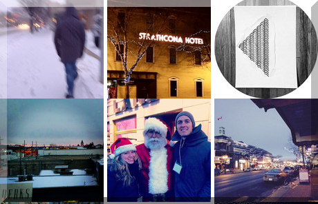 Whyte Avenue collage of popular photos