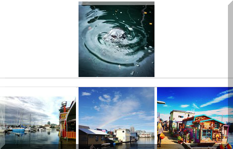 Fisherman's Wharf collage of popular photos