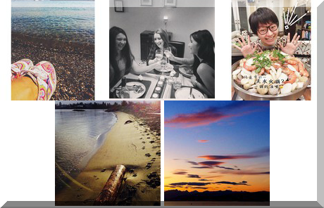 Jericho Beach collage of popular photos