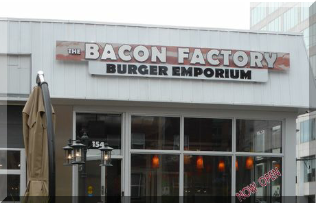 The Bacon Factory collage of popular photos