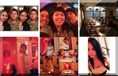 Bailey's Restaurant & Bar collage of popular photos