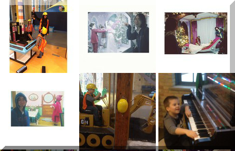 Manitoba Children's Museum collage of popular photos