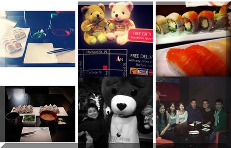 Magic Sushi collage of popular photos