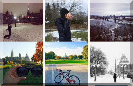 Major's Hill Park collage of popular photos