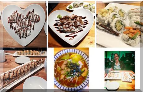 Sushi Island collage of popular photos
