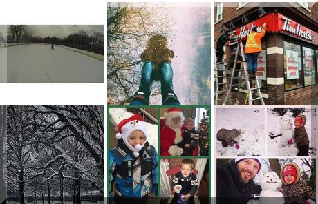 Kew Gardens collage of popular photos